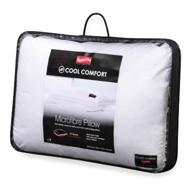 Cool Comfort Microfibre Pillow5